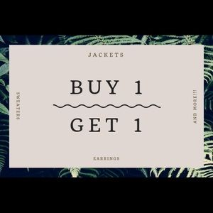 Accessories - Buy one get one free